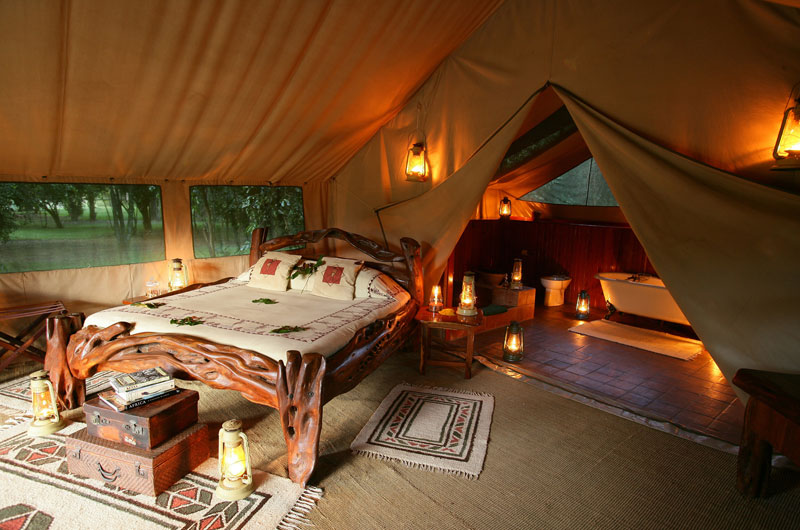 Chambre Governor's Camp