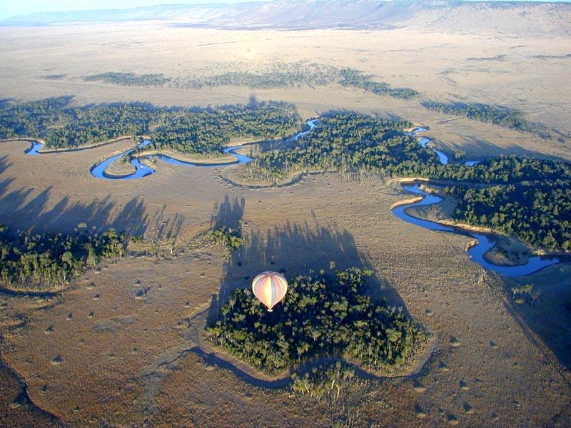 Tour en montgolfière Governor's Camp