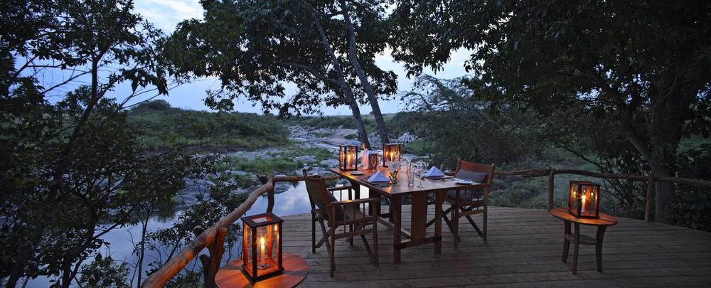 Terrasse Rekero Mara Camp