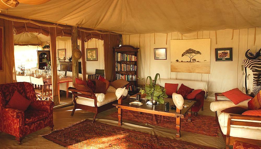 Salon Cottar's 1920s Safari Camp