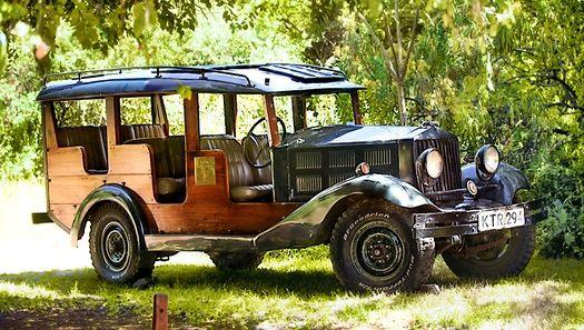 4X4 d'origine  Cottar's 1920s Safari Camp