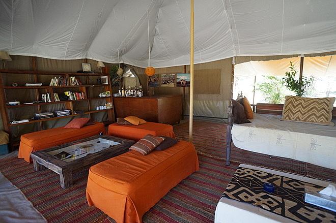 Chambre Speke's Camp