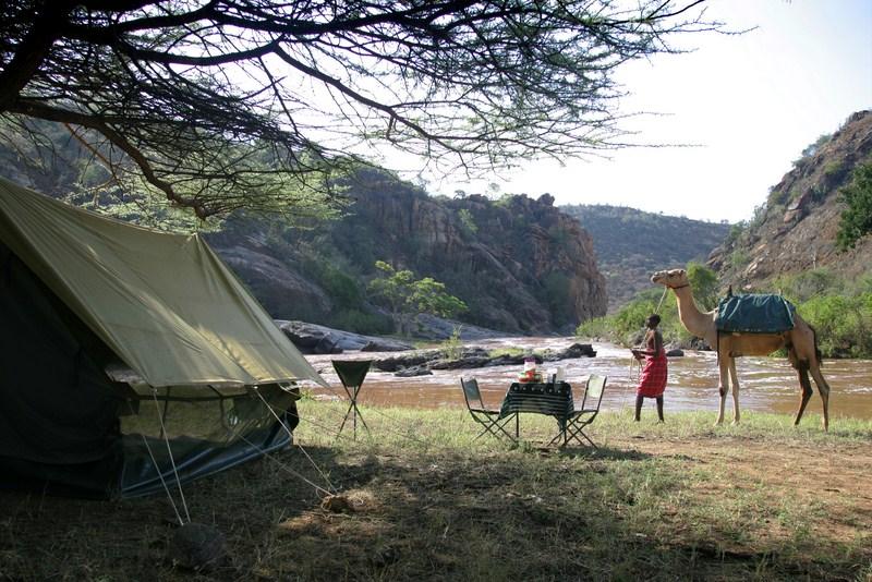 Tente itinérante avec chameau Sabuk