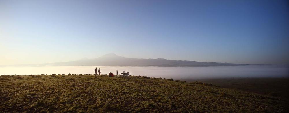 Vue panoramique Tortilis Camp