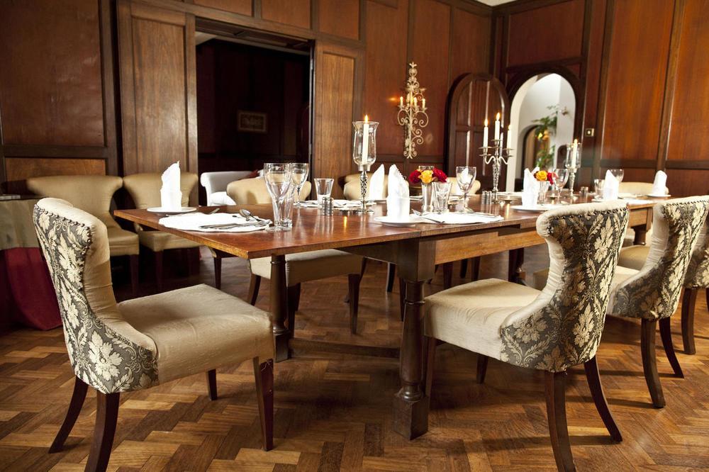 Salle à Manger Giraffe Manor