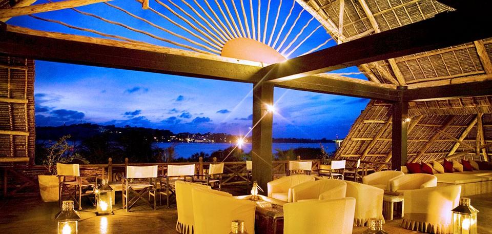 Terrasse vue de nuit The Majlis