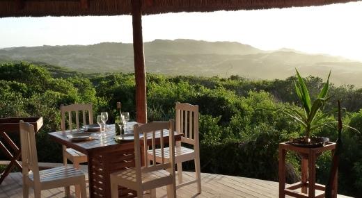Terrasse Restaurant Les Dunes de Donvella
