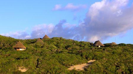 Lodge vue du ciel Les Dunes de Donvella