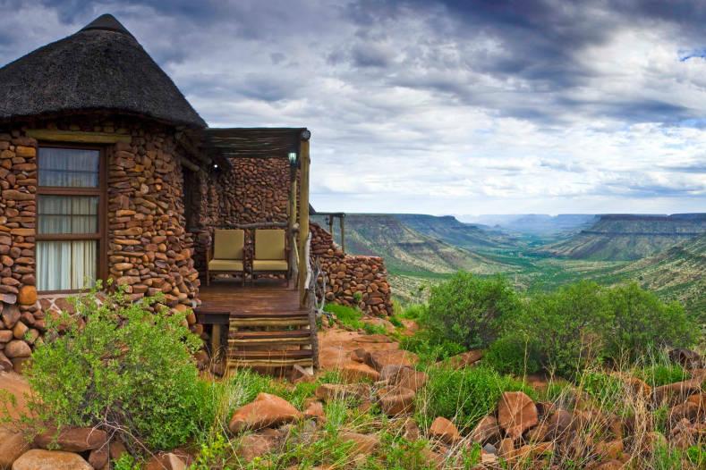 Vue extérieure du lodge Grootberg Lodge