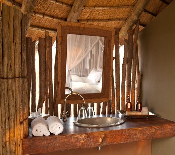 Salle de bain Onguma Tree Top Camp