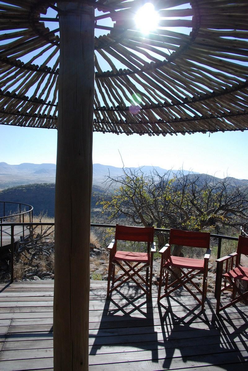 Terrasse panoramique 360° Etambura
