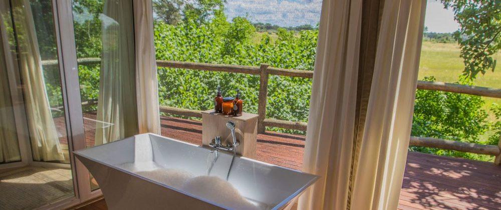 Salle de bain Nambwa Tented Lodge