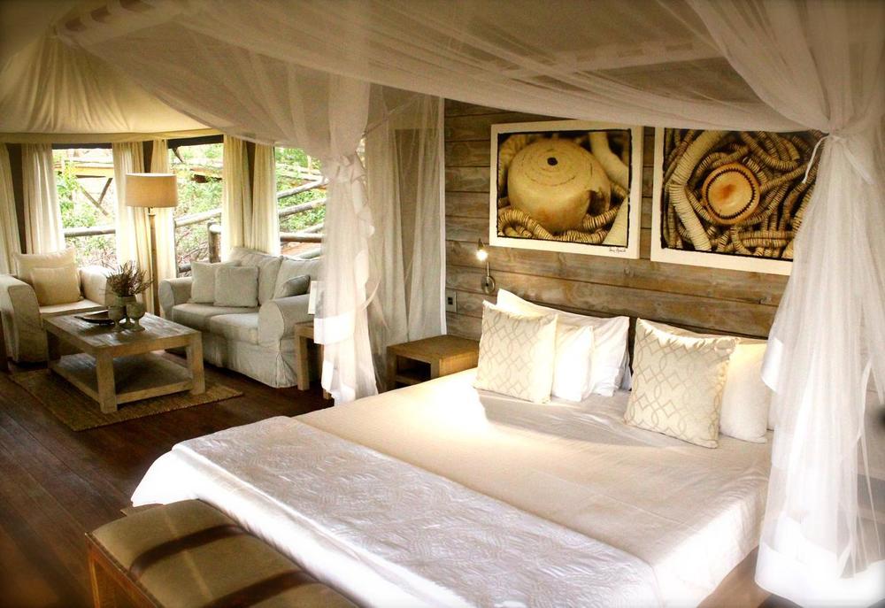 Chambre Nambwa Tented Lodge