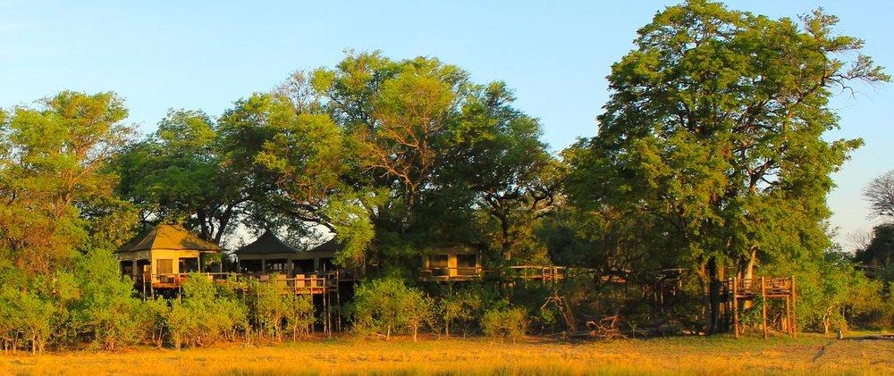Vue de l'extérieure Nambwa Tented Lodge