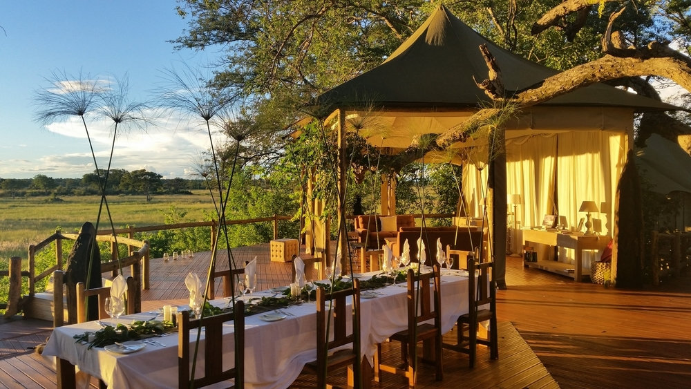 Terrasse Lodge Principale Nambwa Tented Lodge