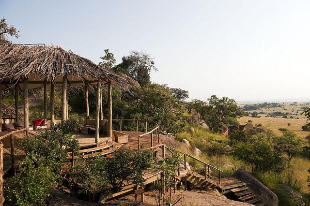 Vue Terrasse panoramique Nomad Lamai Serengeti