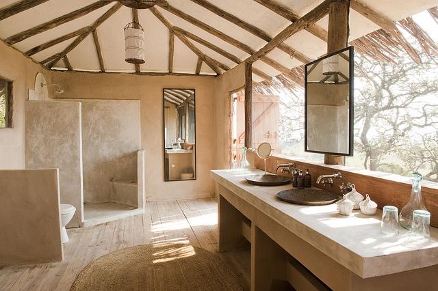 Salle de bain Nomad Lamai Serengeti