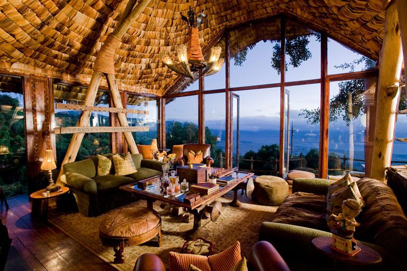 Véranda Ngorongoro Crater Lodge