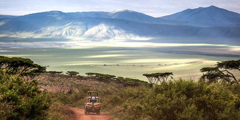 4X4 en safari Entamanu Ngorongoro Lodge