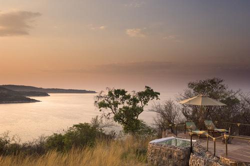Vue panoramique de la terrasse Lupita Island