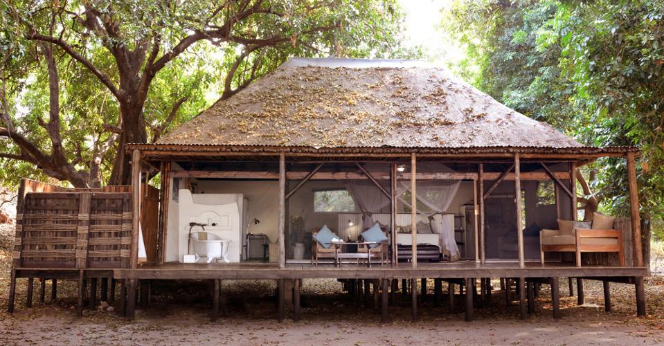 Vue extérieure Chiawa Camp