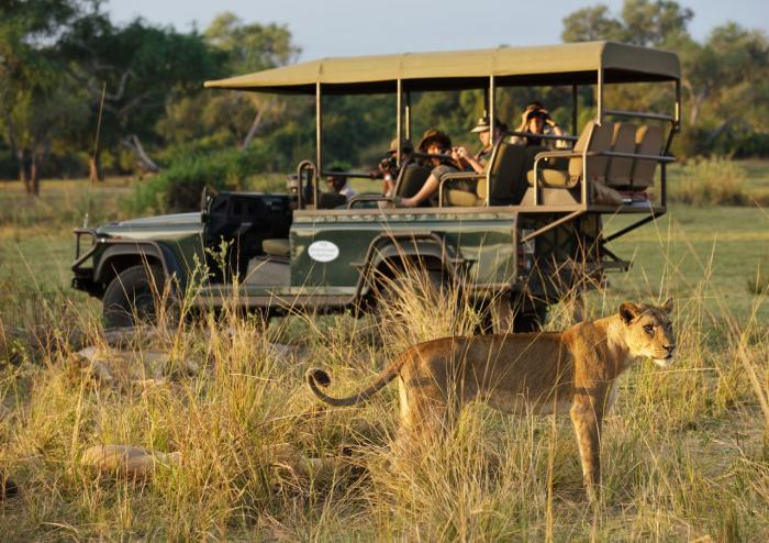 Safari en 4X4 Mfuwe Lodge