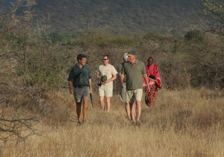 Safari à pieds Sarara Camp
