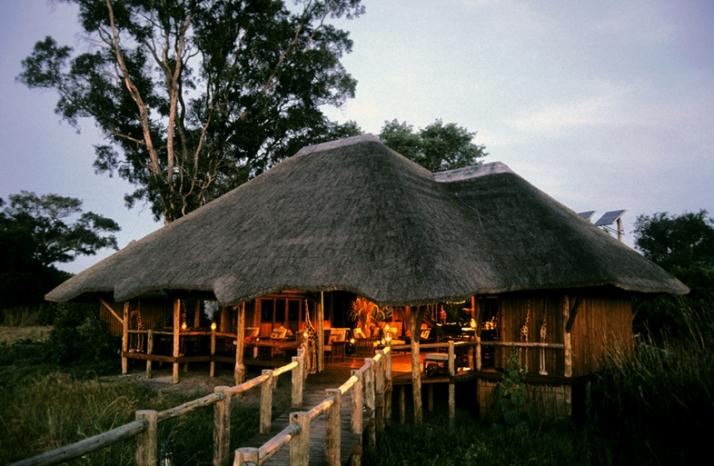 Vue extérieure Lebala Camp