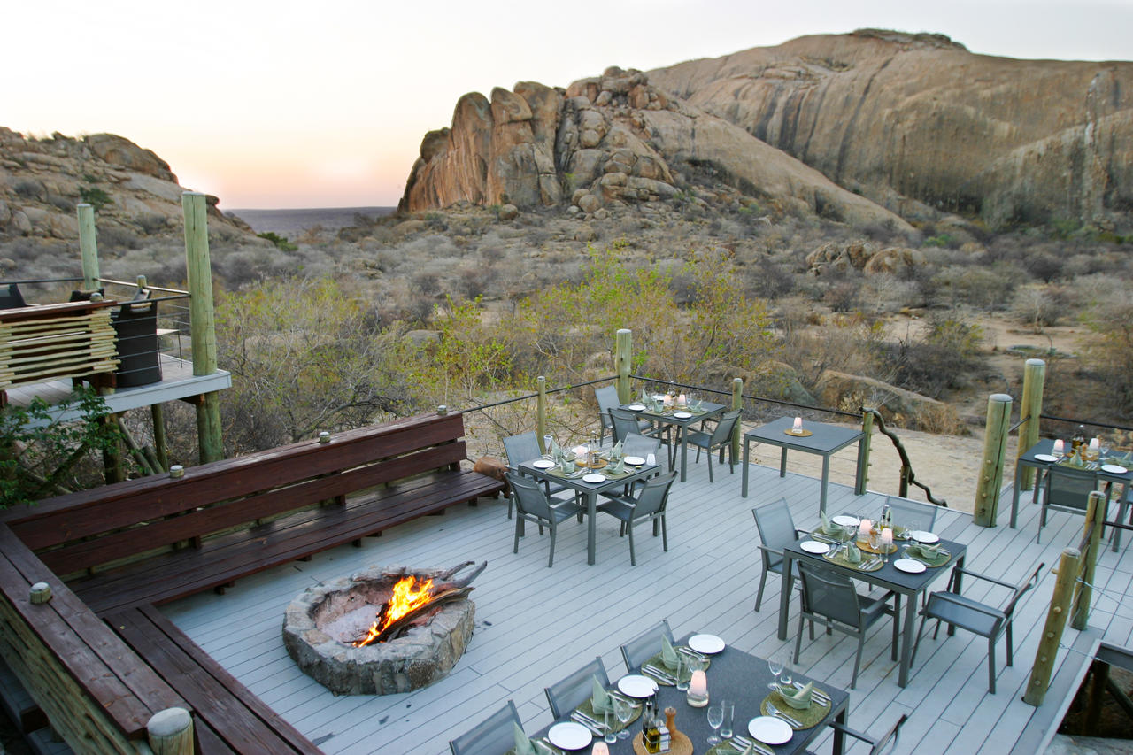 Terrasse Erongo Wilderness Lodge