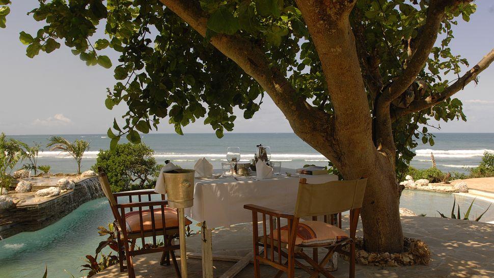Déjeuner romantique Msambweni Lodge