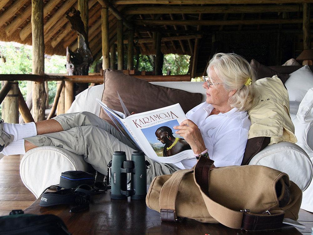 Terrasse Apoka Safari Lodge