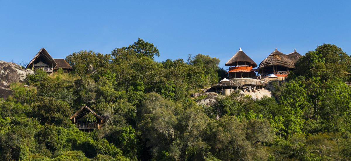 Vue extérieure Mihingo Lodge