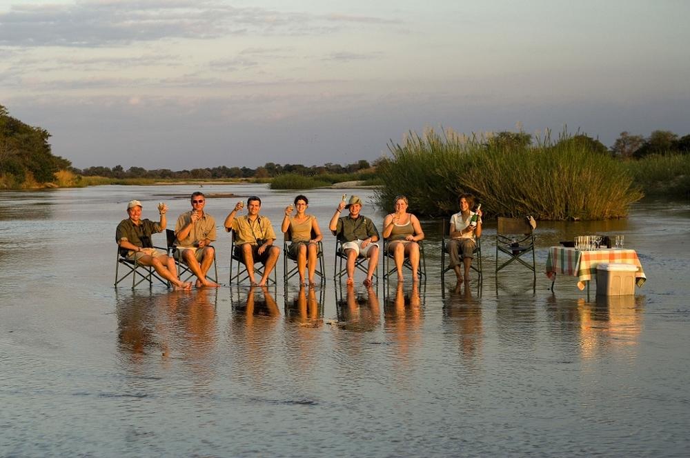 Safari Zambie et chute Victoria - safari mobile