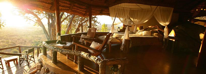 Voyage de noces Romance Kenyane - vue depuis Elsa's Kopje