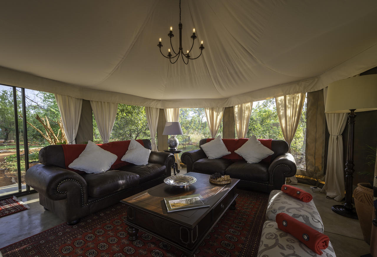 The Elephant camp central tent