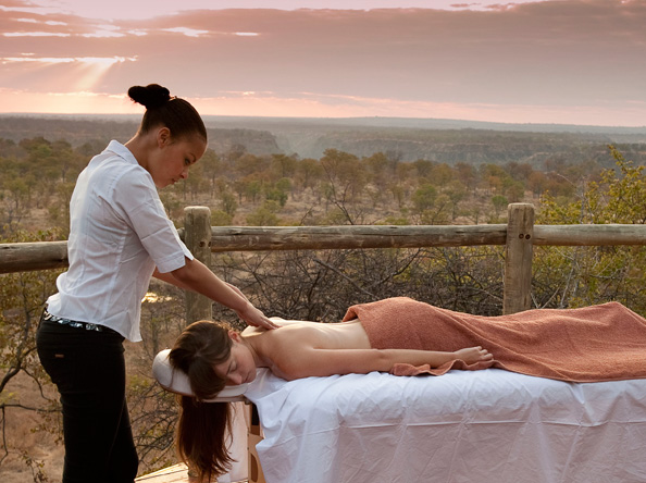 The Elephant camp massage