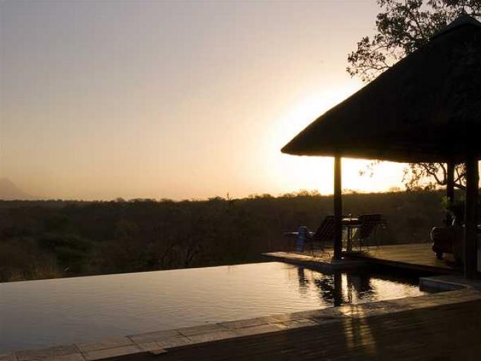 Coucher de soleil Khaya Ndlovu Manor House