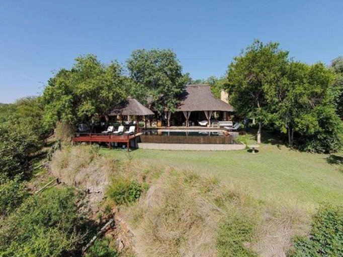 Vue de Khaya Ndlovu Manor House