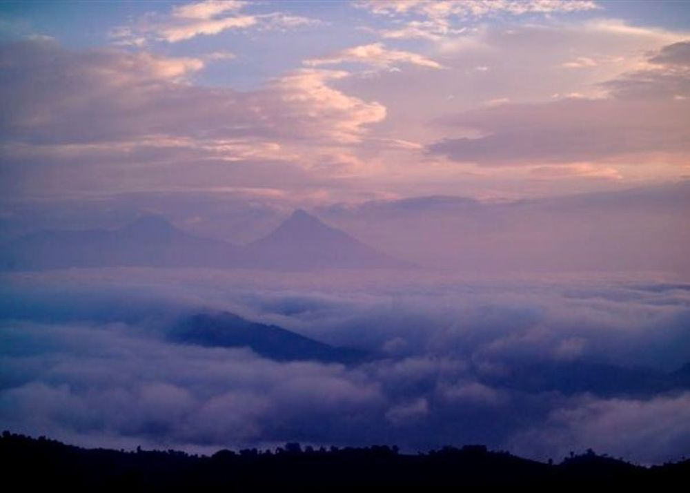 Vue Nuages Clouds Mountain Gorilla Lodge