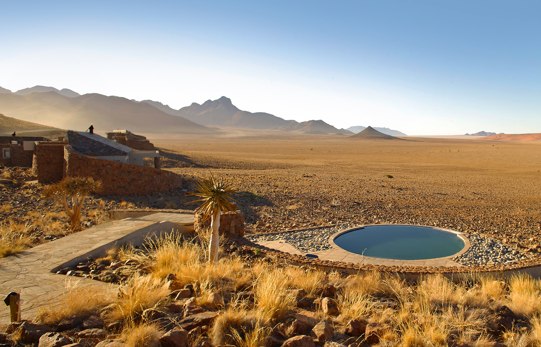 Safari Déserts et Plaines Africaines - vue du Sossusvlei desert lodge