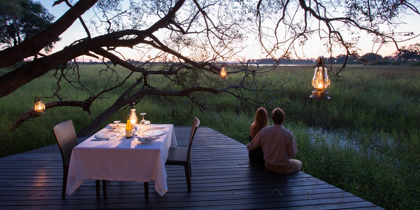 Diner romantique Abu camp