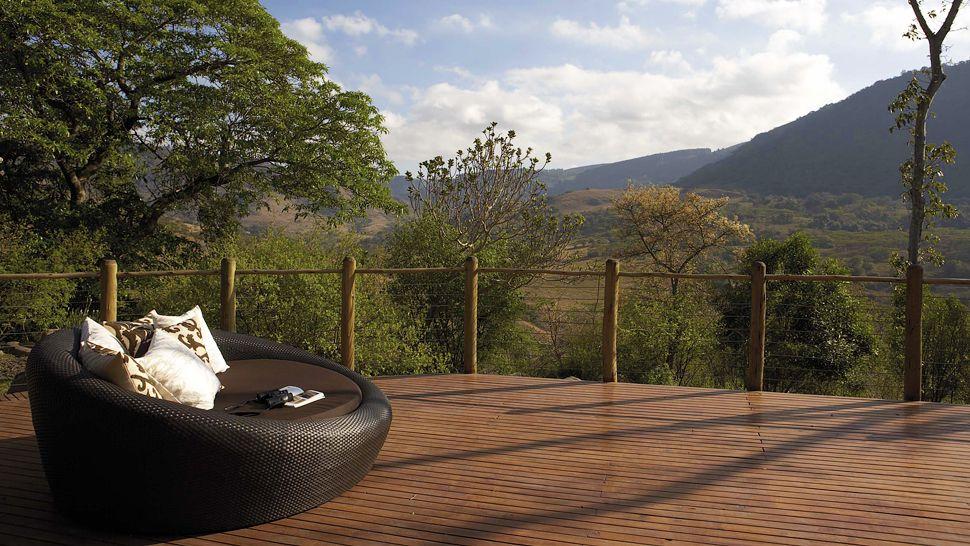 Safari beautés sud-africaines et détente au Spa - vue du Karkloof