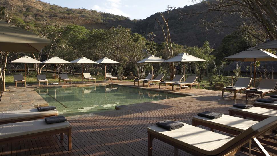 Safari beautés sud-africaines et détente au Spa - piscine du Karkloof