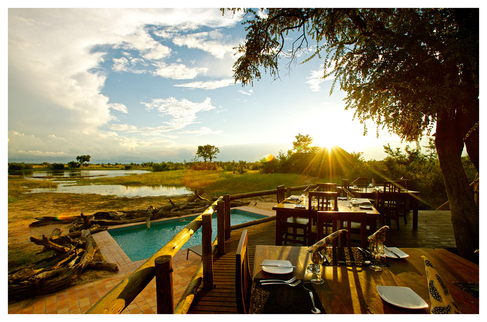 Piscine du Nehimba lodge
