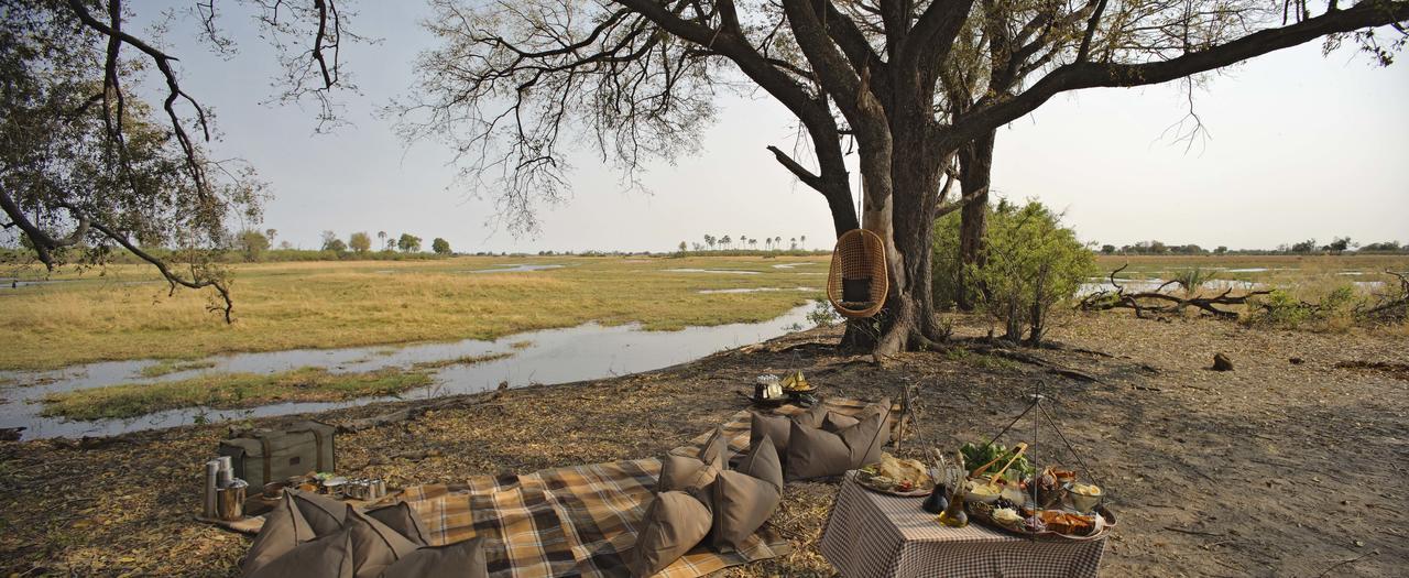 Safari Je Veux du Luxe en Afrique - pique-nique de luxe à Sandibe