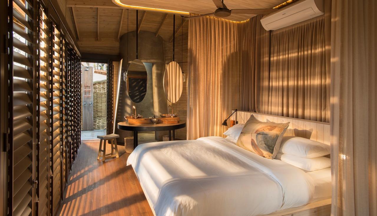 Safari Je Veux du Luxe en Afrique - Chambre à Sandibe