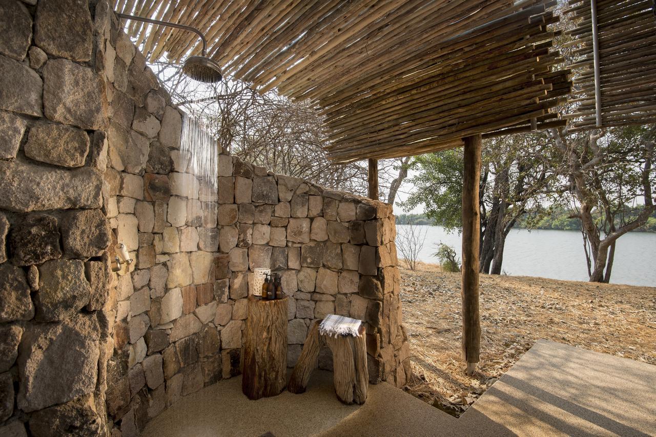 Safari Je Veux du Luxe en Afrique - douche de Matetsi