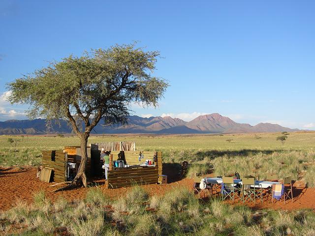 Trek dans le désert namibien - camp du Tok Tokkie trails