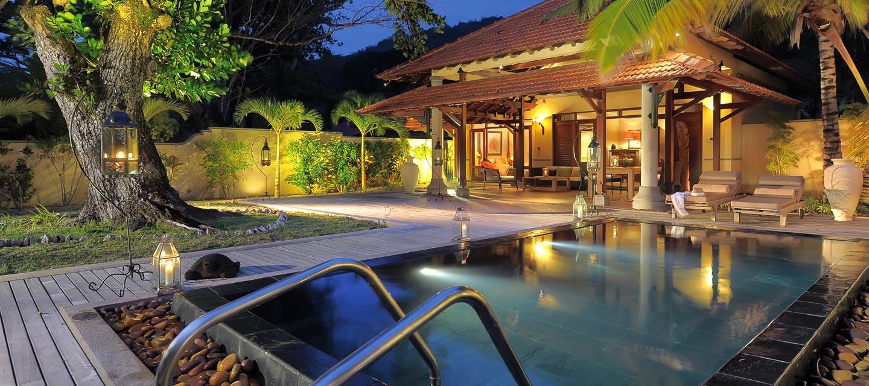 Villa au Beachcomber hotel Saint Anne