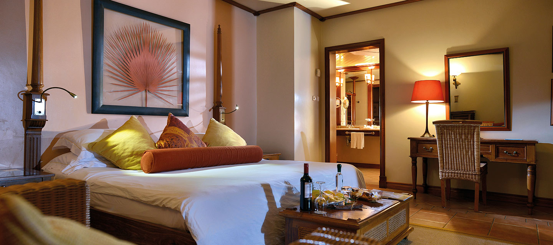 Chambre au Beachcomber hotel Saint Anne